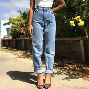 VTG 90s Levi's 550 Mom Jeans High Rise Long Length